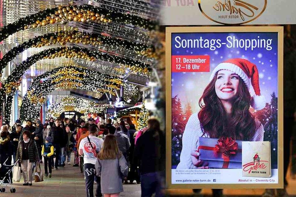 Verkaufsoffener Sonntag in der City! Schön Geschenke shoppen!