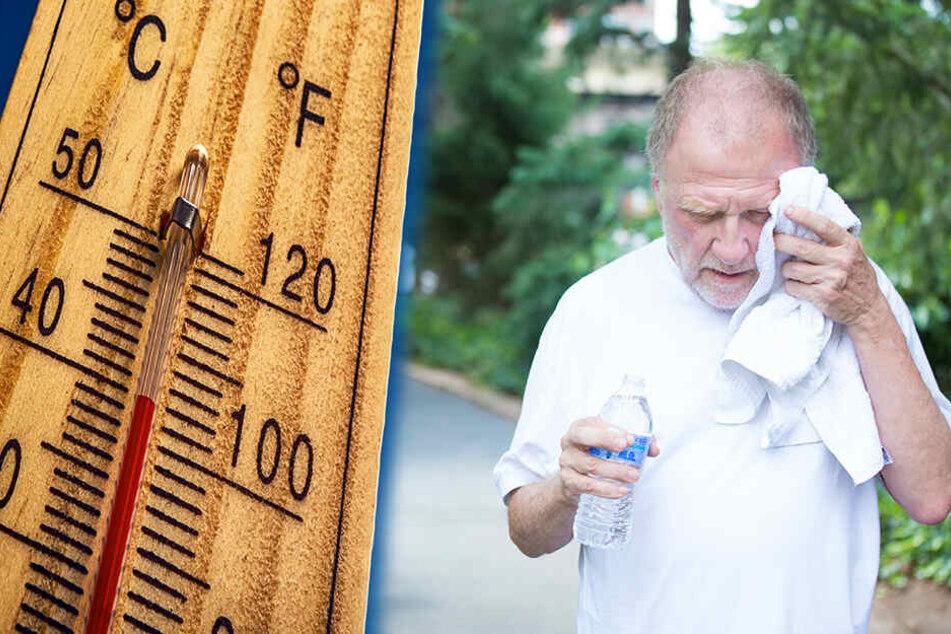 Gerade Senioren sollten bei sehr hoher Hitze auf ihren Wasserhaushalt achten!