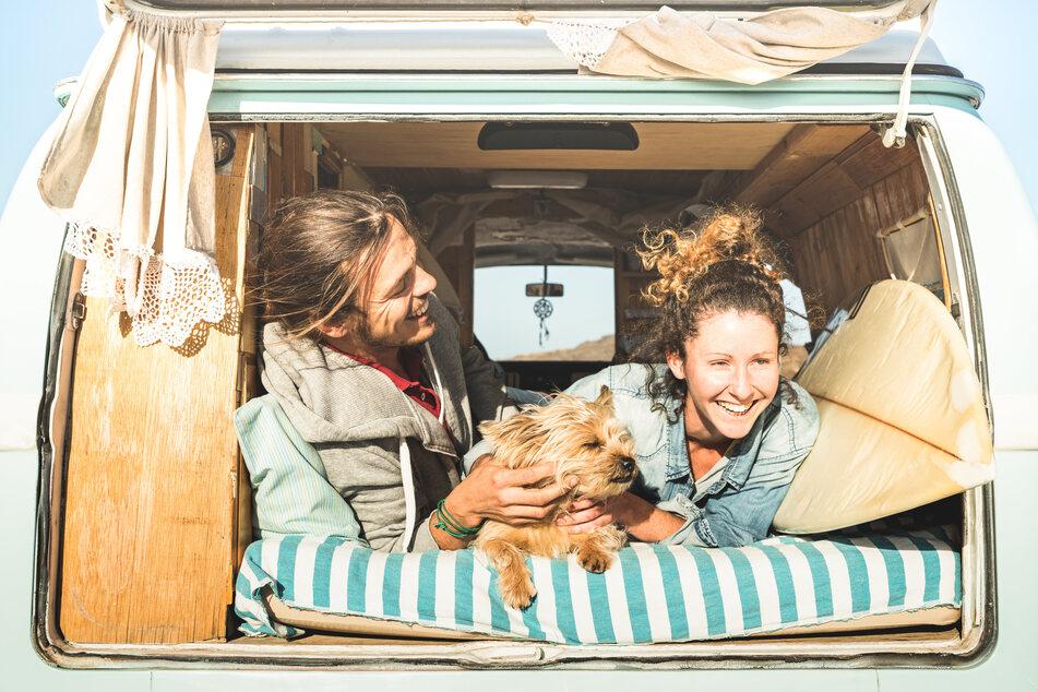 Halten, wo und wann man will: Mit dem Camper lässt sich der Urlaub frei gestalten.