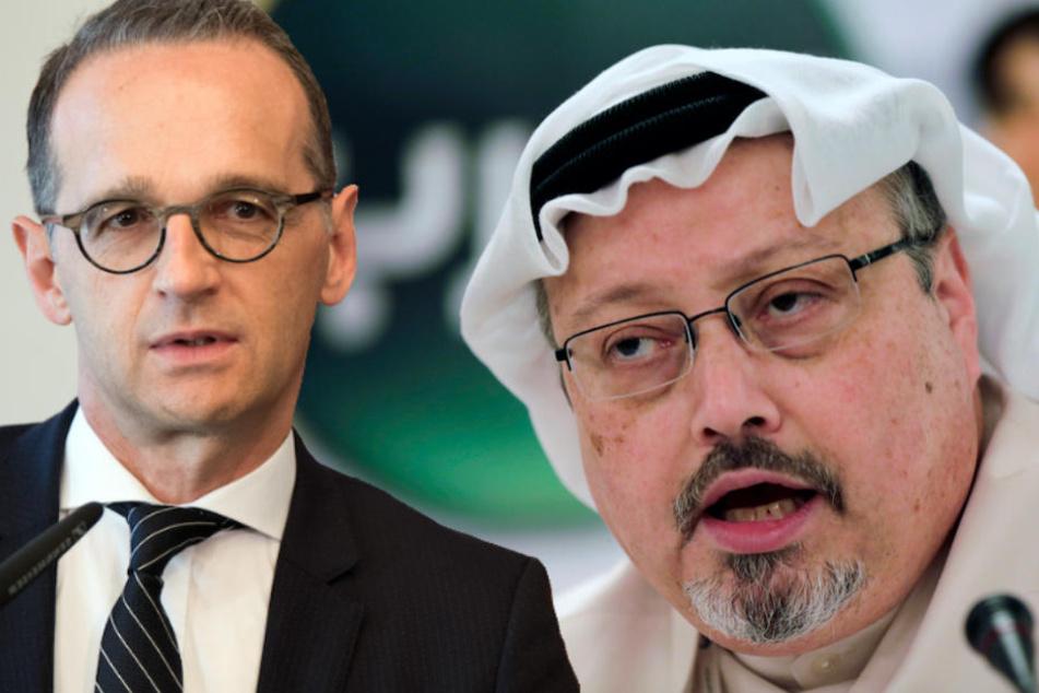 Außenminister Heiko Maas (52, SPD) verurteilt die Tötung von Jamal Khashoggi (†59) aufs Schärfste.