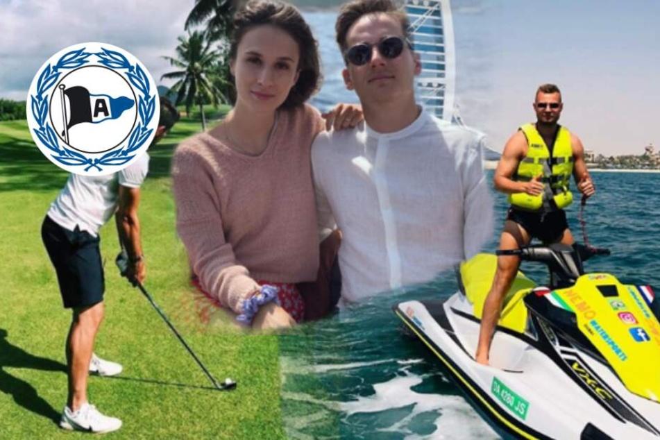 Ende der Sommerpause naht: So haben die DSC-Profis ihren Urlaub verbracht