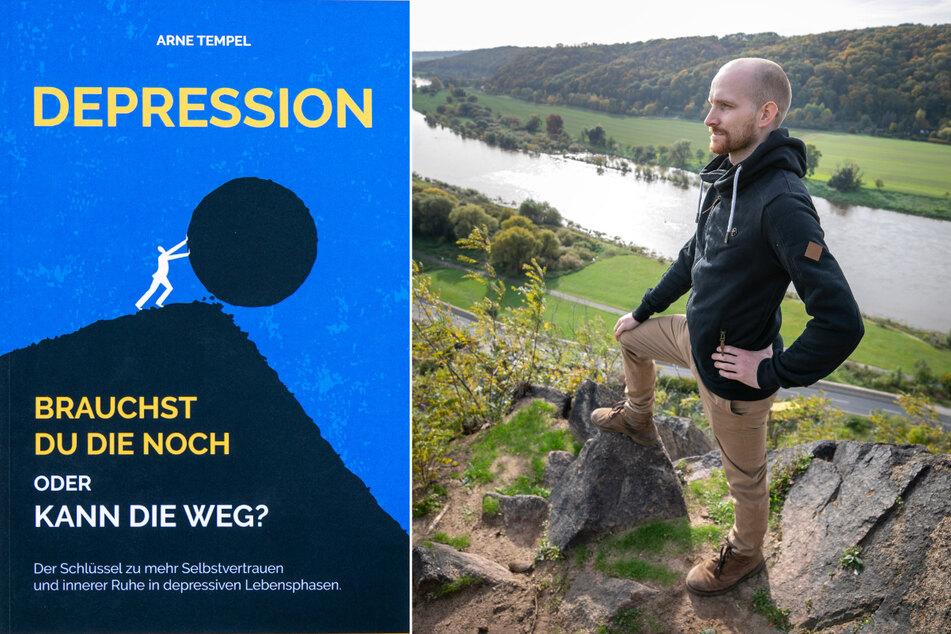 """""""Depression - Brauchst du die noch oder kann die weg?"""" von Arne Tempel ist im Buchhandel erhältlich."""