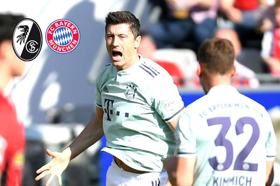 FC Bayern patzt in Freiburg: Rekordmeister stolpert im Titelrennen