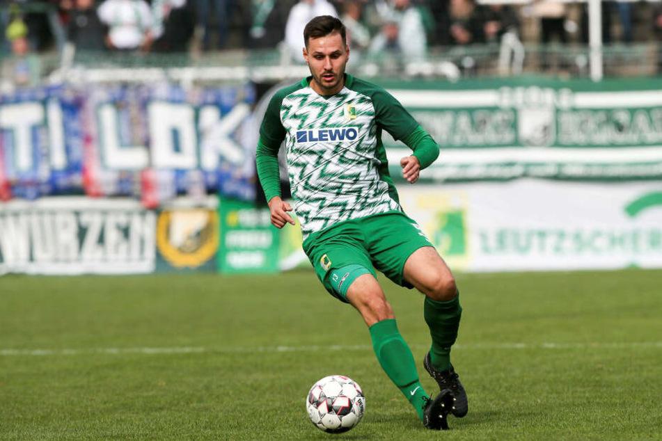 Manuel Wajer stand am Sonntag gegen den BFC Dynamo zum 150. Mal für die BSG auf dem Platz.