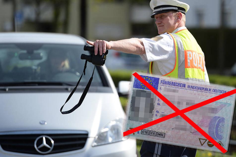 Vier Jahre war ein Bielefelder (60) ohne Führerschein unterwegs (Symbolbild).