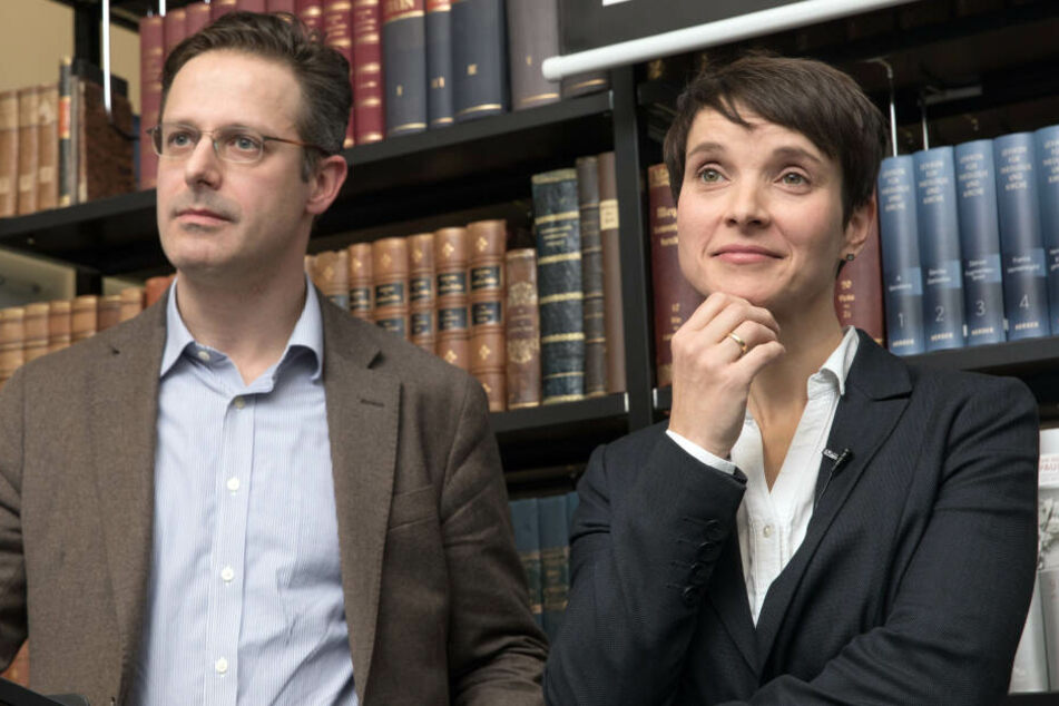 Frauke Petry mit ihrem Mann Marcus Pretzell.