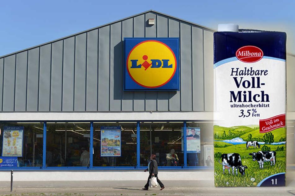 """Betroffen ist das Produkt """"Milbona H-Milch, 3,5 % Fett"""""""