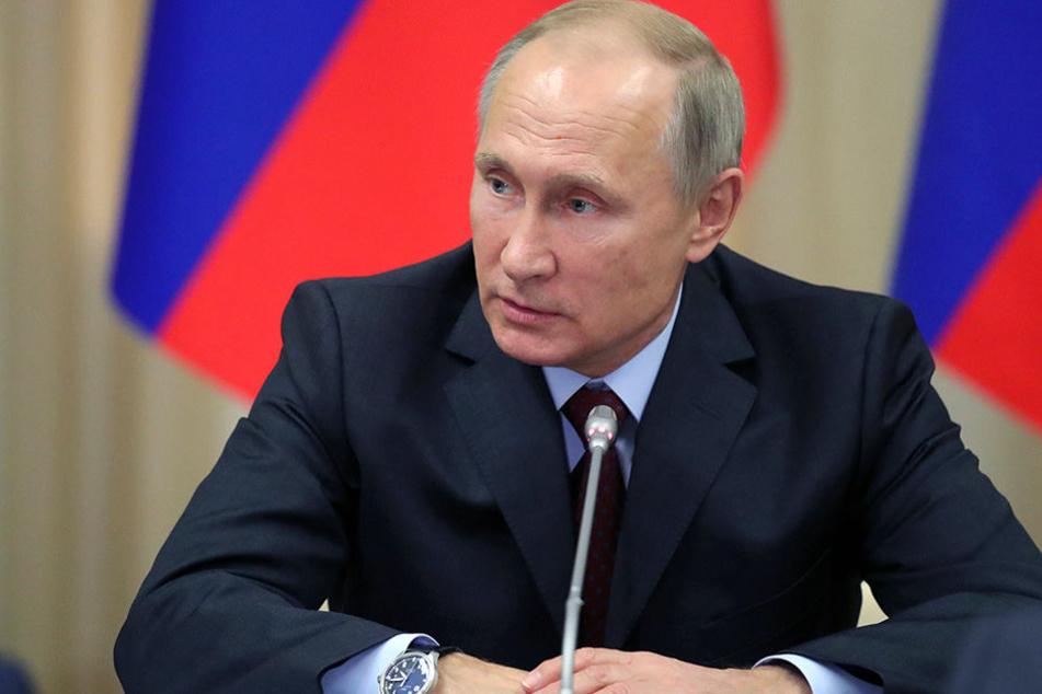Wladimir Putin könnte schon 2018 nicht mehr Präsident sein.
