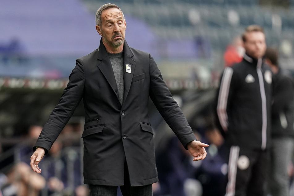 Adi Hütter (51) steht mit Eintracht Frankfurt kurz davor, den Einzug in die Champions League perfekt zu machen.