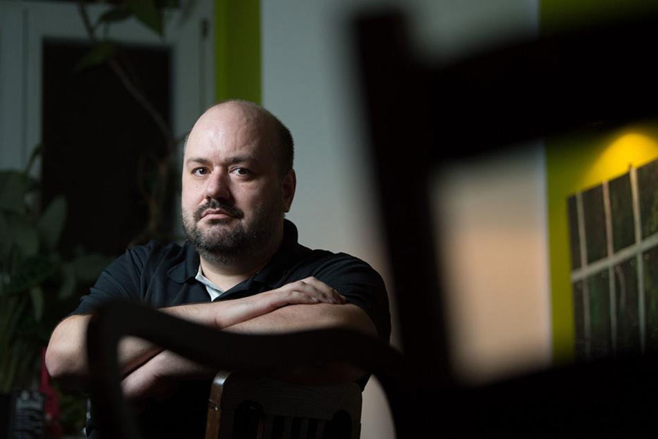 Der Physiker Petr Cizmar lebt mit seinem Sohn in Dresden.