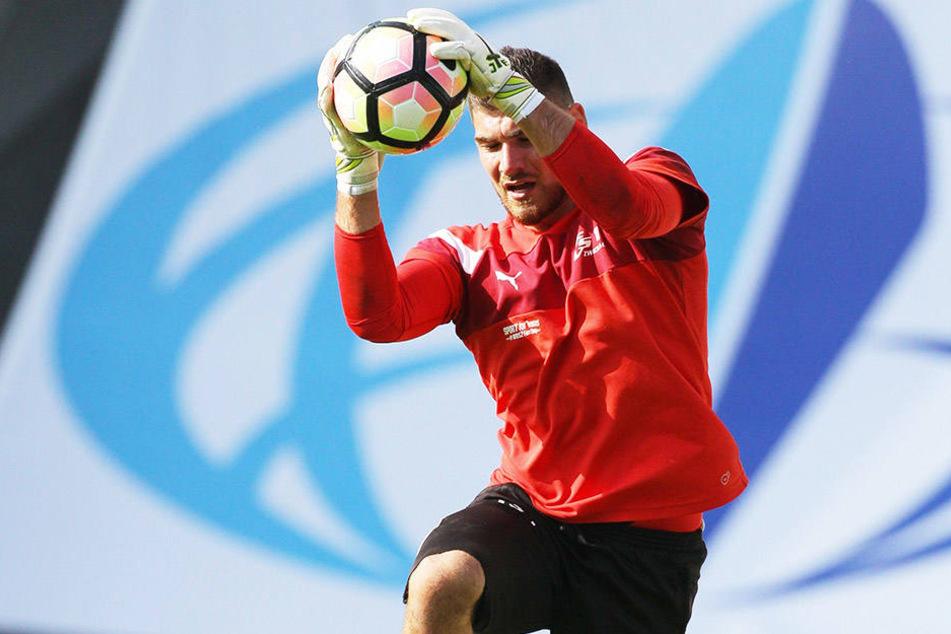 """FSV-Keeper Johannes Brinkies hat früher in der deutschen """"U16""""- und """"U19""""-Auswahl gehalten."""
