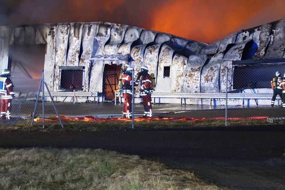 Das Feuer ist in der Nacht zum Freitag entstanden.