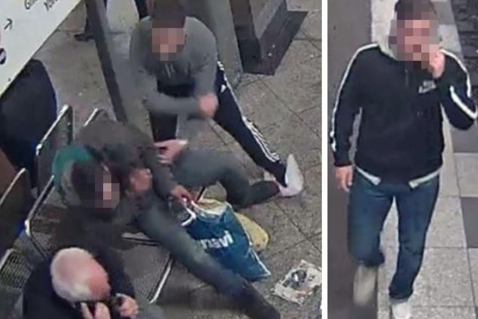 Die Jugendlichen schlugen und traten den Mann mit voller Wucht ins Gesicht.