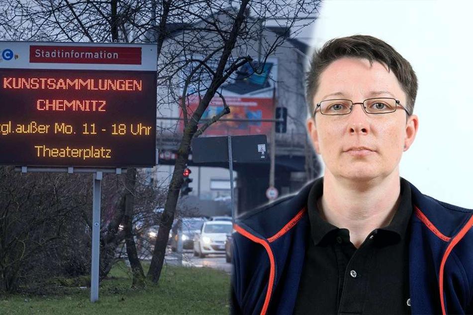 Bekommt Chemnitz ein neues Parkleitsystem?