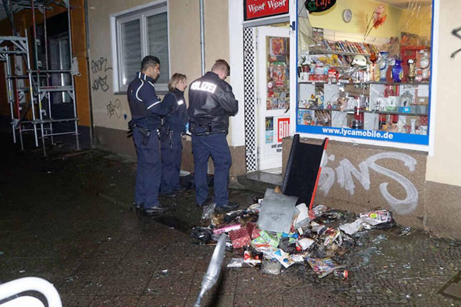 Feueralarm! Kiosk-Brand verletzt Besitzerin schwer