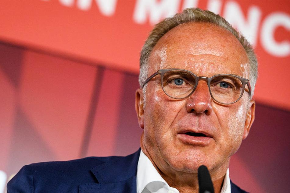 Soll laut Football Leaks eine europäische Super League hinter dem Rücken der UEFA mit vorangetrieben haben: Karl-Heinz Rummenigge.