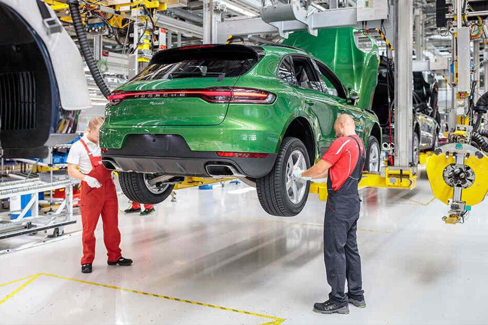 Über 5000 der in Leipzig produzierten Porsche Macan wurden pro Jahr nach Großbritannien verkauft.