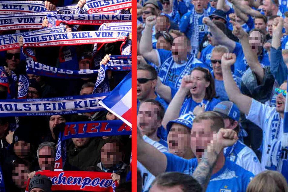 Fans von Holstein Kiel und des 1. FC Magdeburg sind auf einem Rastplatz auf der A2 aneinander geraten. (Symbolbild)