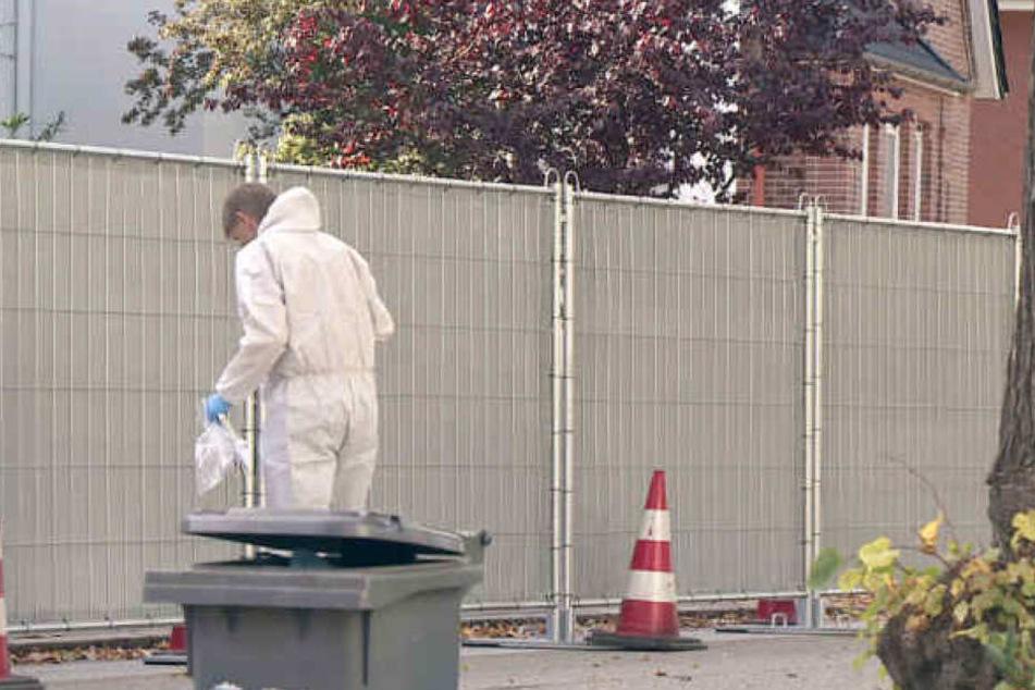 Um den tödlichen Schuss auf einen jungen Mann in Bad Oldesloe aufzuklären, ist auch die Spurensicherung im Einsatz.