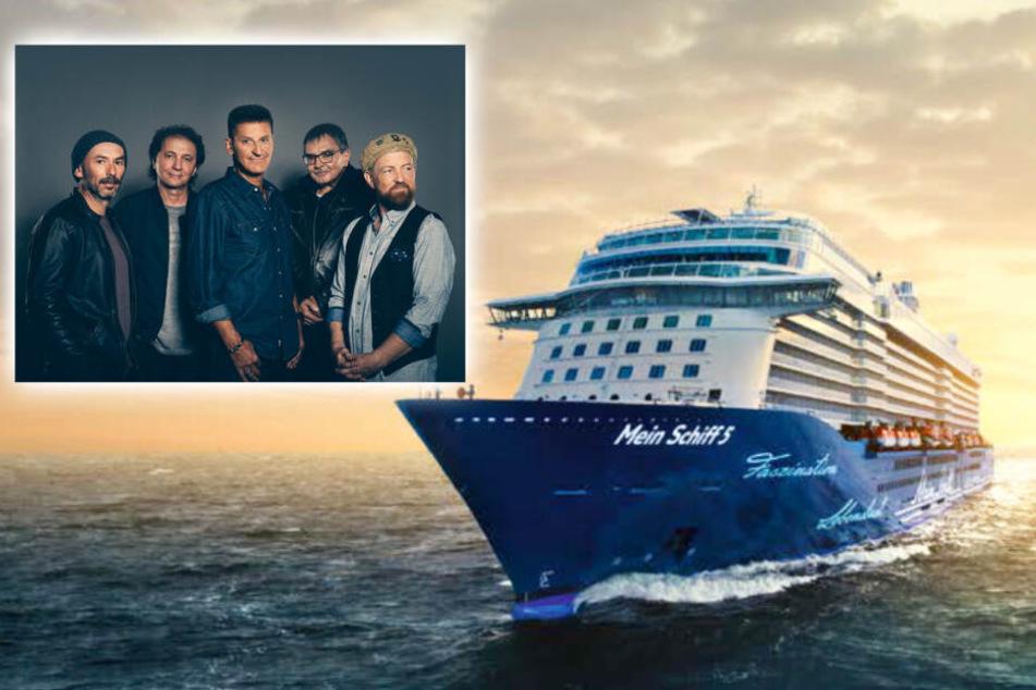 """Die """"Stars del Mar-Tour 2020"""" garantiert mit genialen Künstlern eine unvergessliche Stimmung an Bord."""