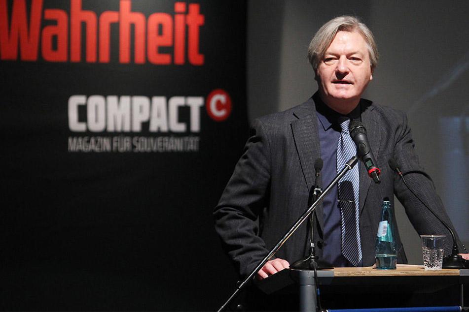 Rechtes Bündnis will auf COMPACT-Konferenz Ehrenpreis vergeben