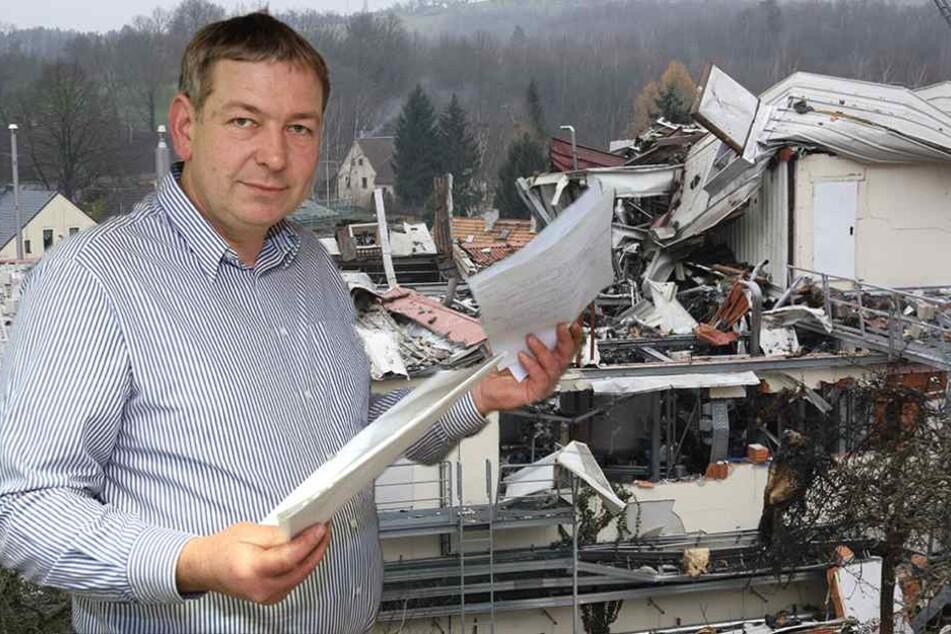 Eine Petition mit 100 Unterschriften richtete Unternehmer Thomas Huth (44) an das Europäische Parlament. Brüssel sollte die Schließung der Fabrik prüfen.