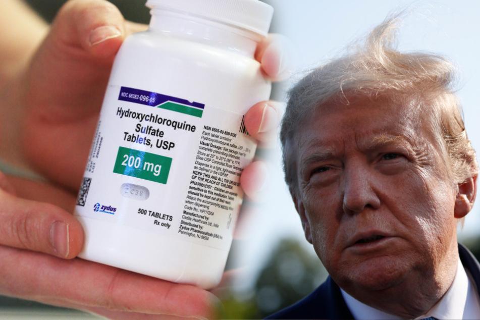 Als Corona-Prophylaxe: Donald Trump nimmt Malaria-Medikament ein!