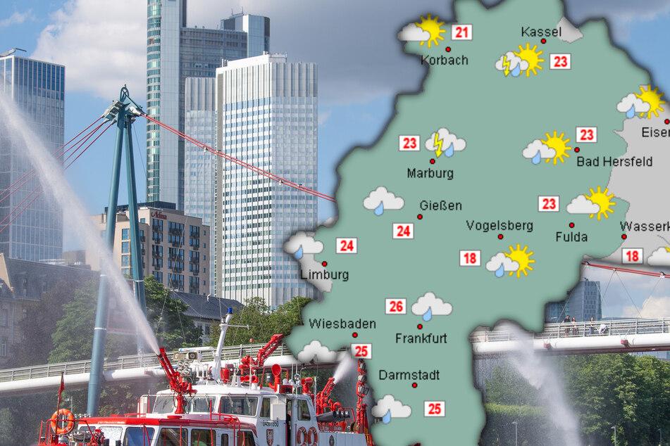In Hessen darf in der neuen Woche mit viel Sonnenschein gerechnet werden.