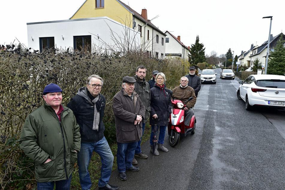 Anwohner aus Altendorf wünschen sich mehr Verkehrssicherheit, warten aber bisher vergeblich auf einen versprochenen Vor-Ort-Termin.