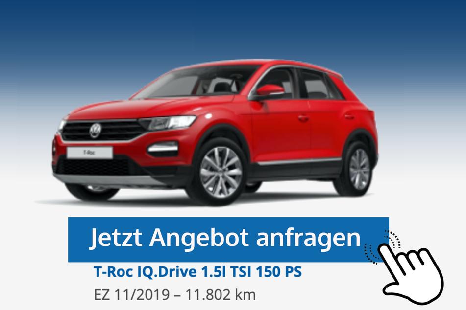 T-Roc IQ.Drive (1.5l TSI 150 PS) für 24.690 Euro bzw. 249 Euro/Monat*