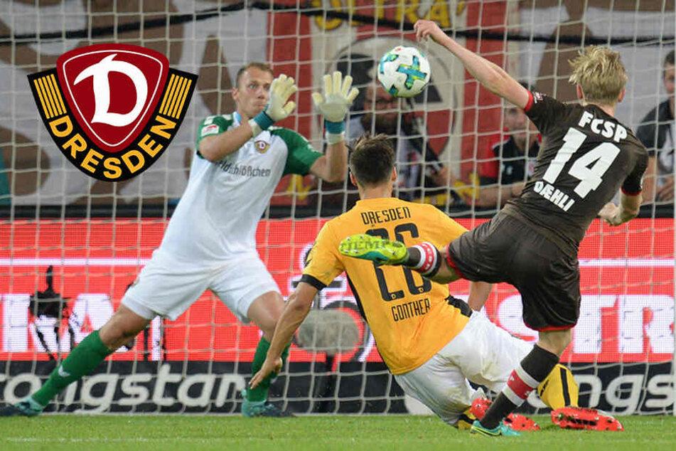 Spektakel auf St. Pauli: Dynamo holt zweimal Rückstand auf