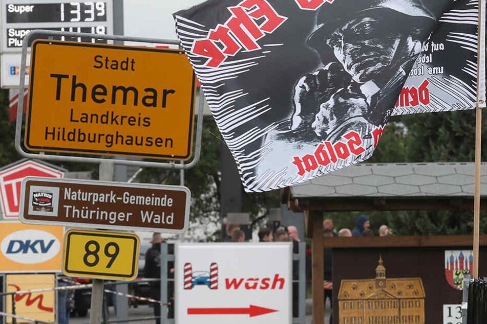 Im Juli kamen rund 7000 Rechte zu zwei Konzerten nach Südthüringen.