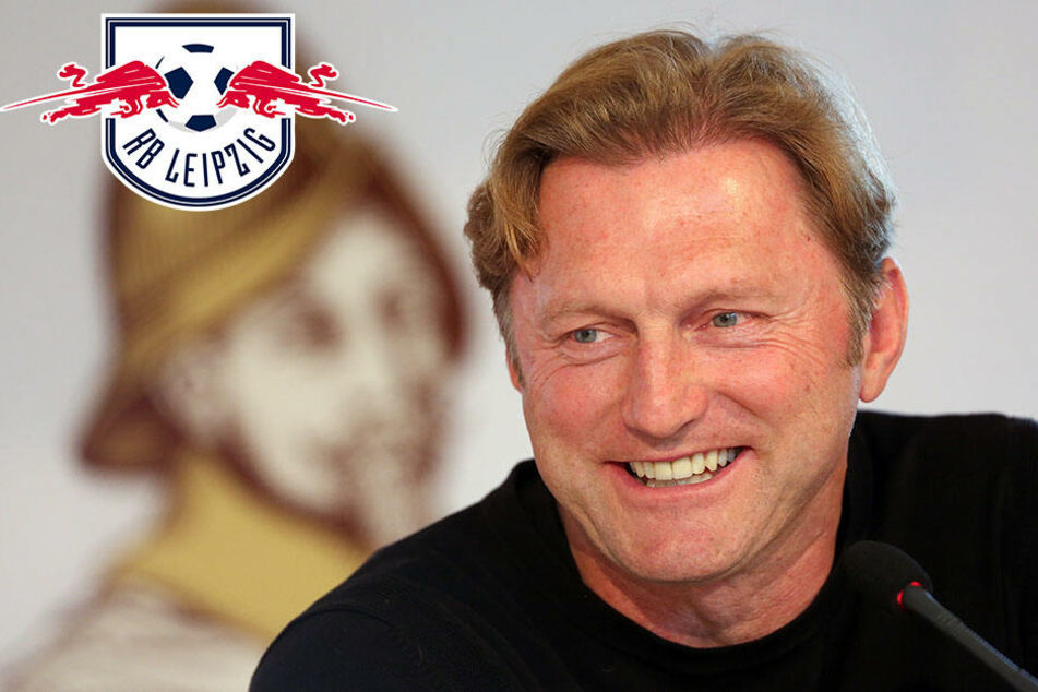 RB-Trainer Ralph Hasenhüttl ist erleichtert: Der Nationalmannschaftsneuling Timo Werner unterstützt die Roten Bullen im Spiel gegen Mainz.