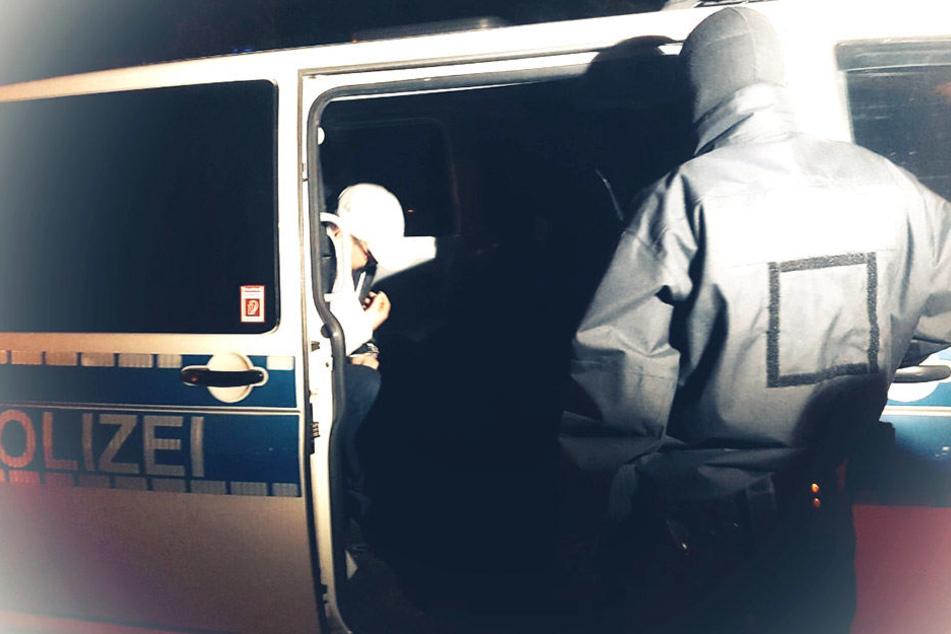 Auch im sächsischen Bad Muskau war die Bundespolizei im Einsatz und nahm eine Person fest.