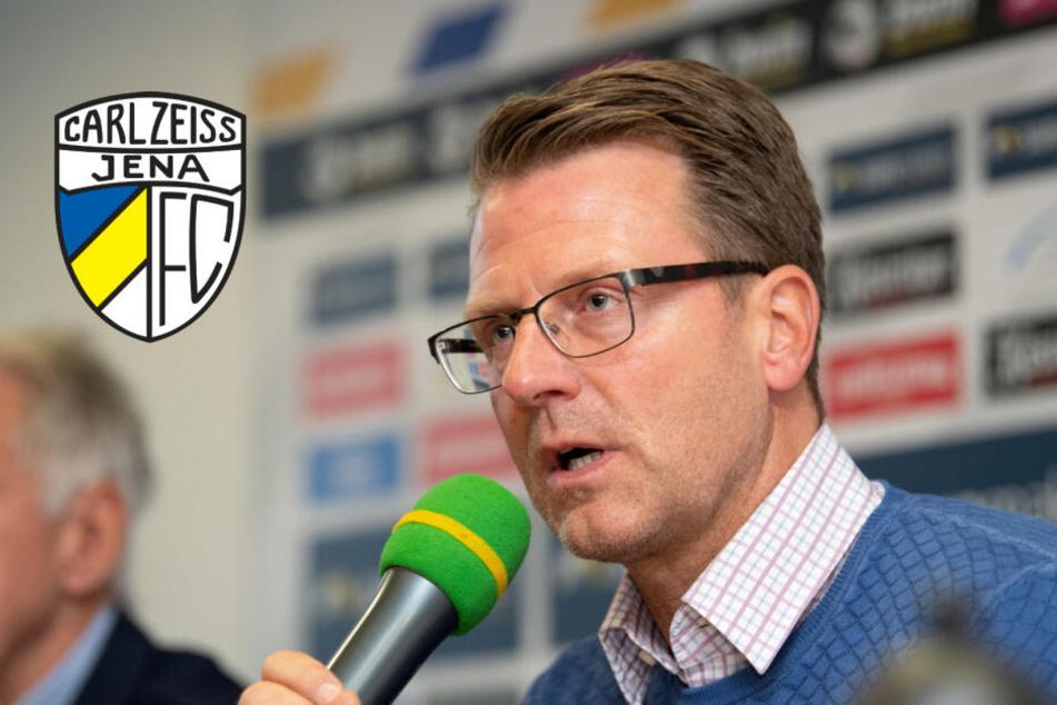So will Rico Schmitt den FC Carl Zeiss Jena vor dem Abstieg retten