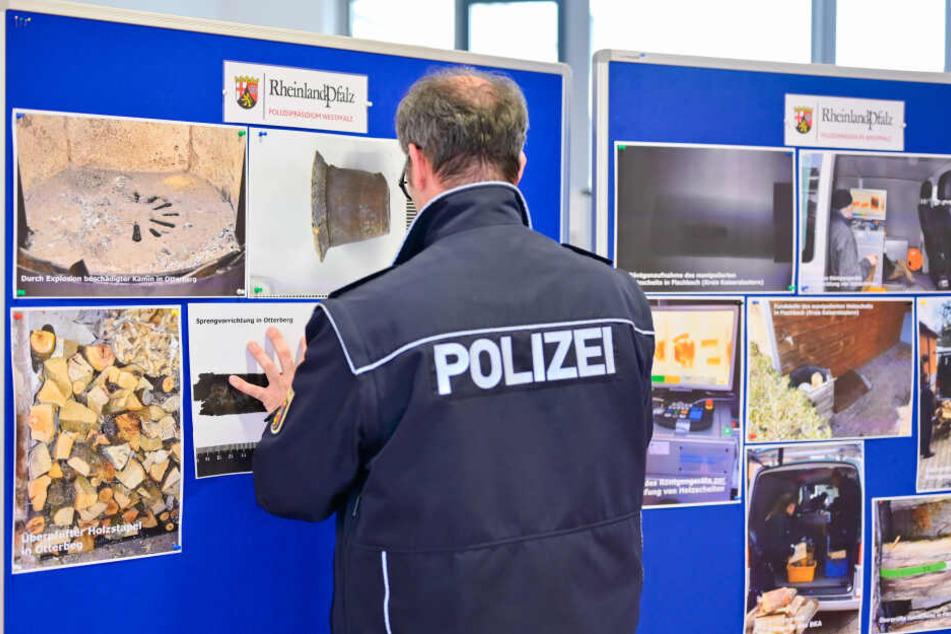 Auf einer Pressekonferenz informierte die Polizei über die jüngsten Ergebnisse der Ermittlungen im Fall Graumann.