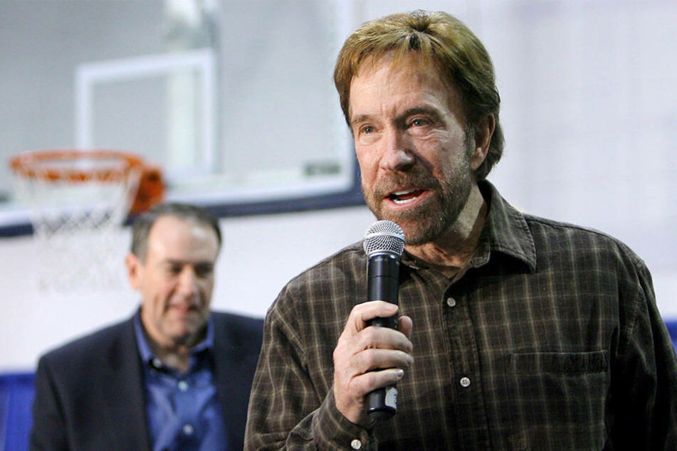 Chuck Norris wird am Freitag 77 Jahre alt.