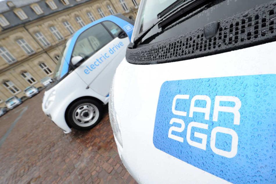 In der Innenstadt deutlicher teurer als am Stadtrand: Der Autoverleih-Dienst Car2Go. (Symbolbild)
