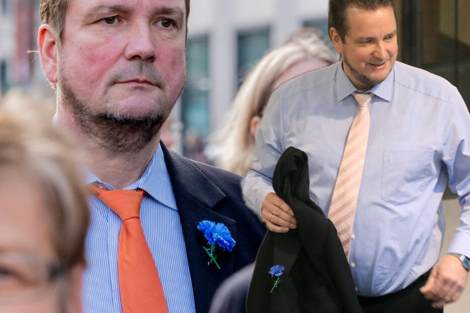 Skandal um Nazi-Symbol bei AfD-Politiker: Schlappe für Wild vor Gericht
