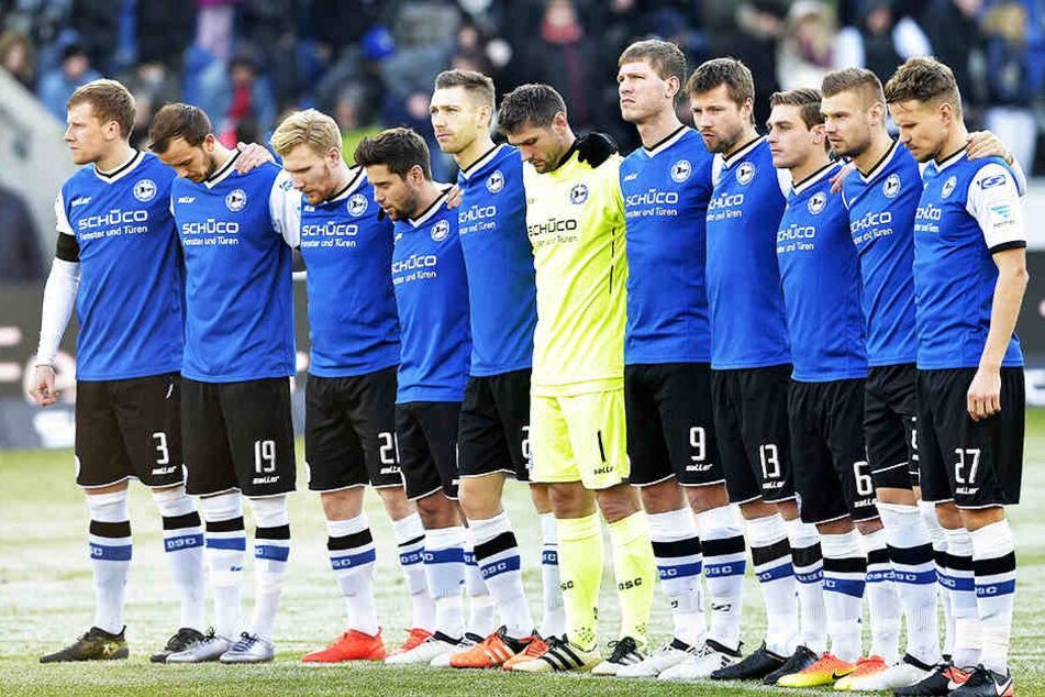 Schon wieder kein Topspiel am Montagabend für die Spieler von Arminia Bielefeld.