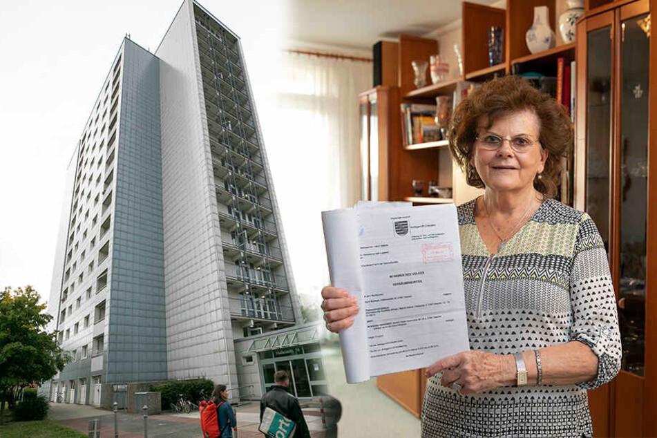 Dresden: Vonovia-Streit: Erste Mieterin klagt erfolgreich gegen Großvermieter