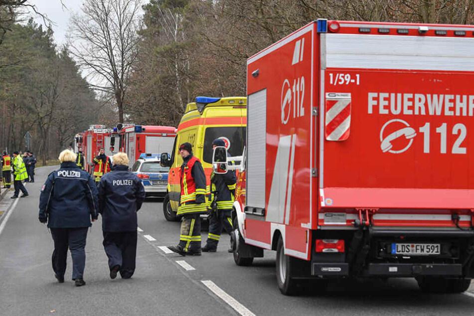Spreewerk Lübben: Heftige Explosion in Munitionswerk - 1 Mitarbeiter vermisst - was war passiert?
