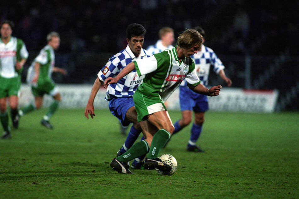 07. März 1997: Ansgar Brink spielte für den FC Gütersloh gegen den FSV Mainz in der 2. Liga.