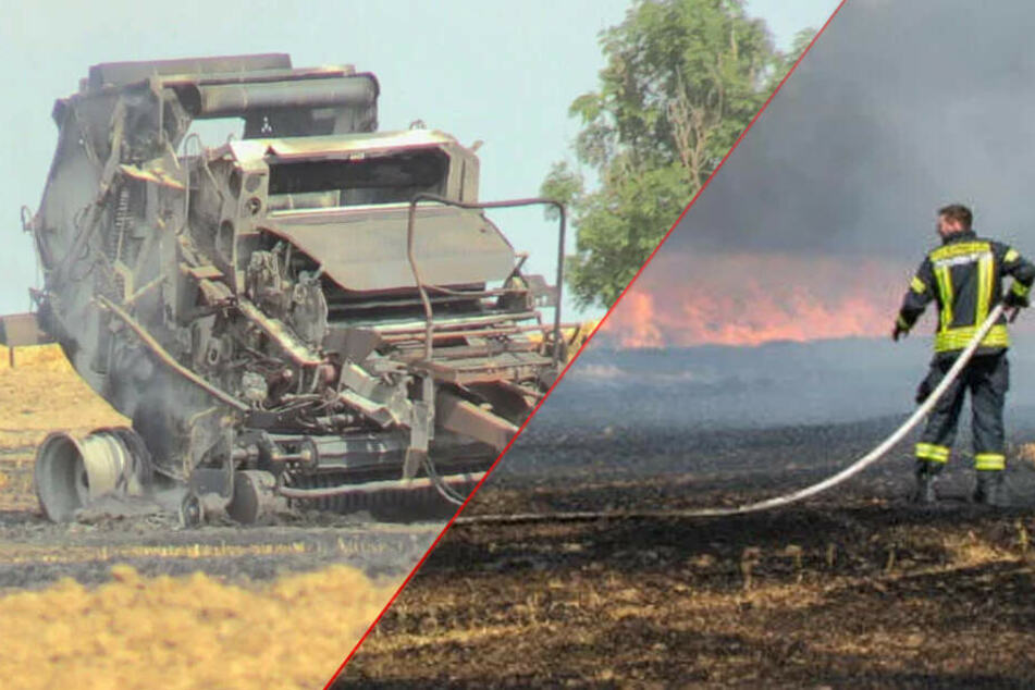 Mehrere große Brände halten Feuerwehr auf Trab
