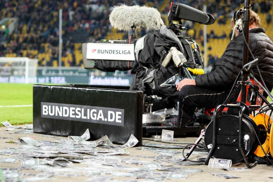 Die Fernsehgelder spülten vor dieser Saison mehr als sieben Millionen Euro in die Dynamo-Kasse.