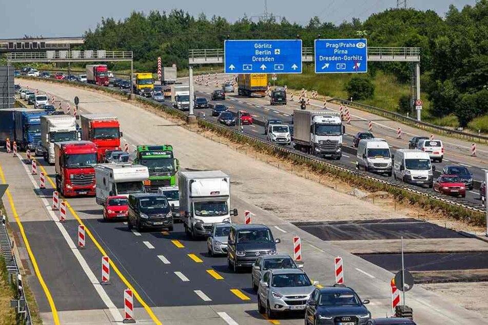 Stau Autobahn A4