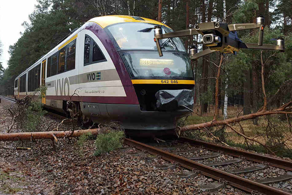 Immer wieder Bahnsperrungen wegen umgestürzten Bäumen: Drohnen sollen's jetzt richten
