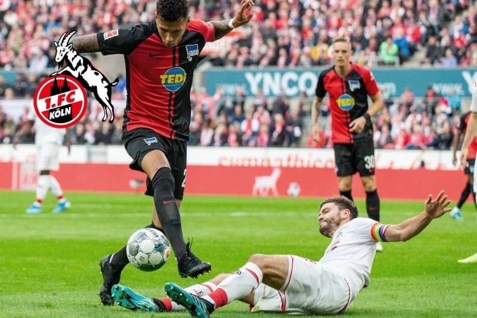 Desolat! 1. FC Köln geht gegen Hertha BSC unter: Meré sieht Rot