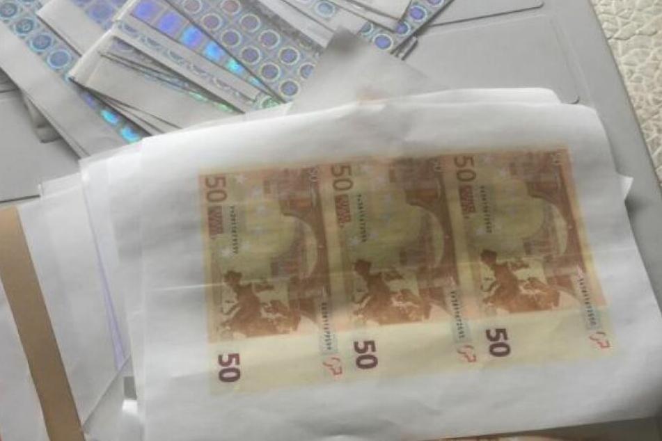 Polizei fasst Geldfälscherbande mit 1,3 Millionen Euro
