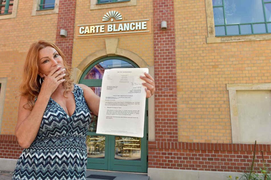 """""""Carte Blanche""""-Chefin Zora Schwarz ist von den Plagiatsvorwürfen geschockt - aber auch ein bisschen geschmeichelt."""